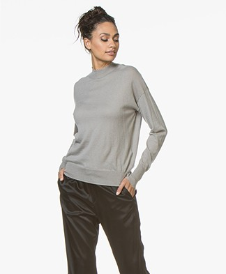 Filippa K Frayed Sweater - Oyster