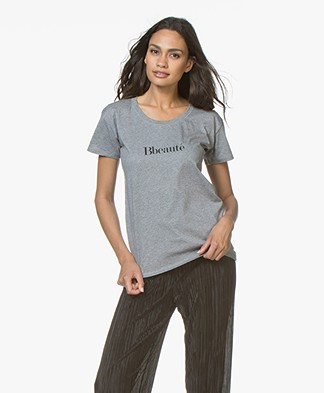 Vanessa Bruno Bbeaute T-Shirt - Grey Melange