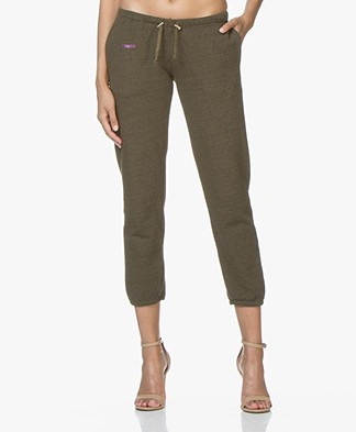 Zadig & Voltaire Sirah Cropped Sweatpants - Fougere