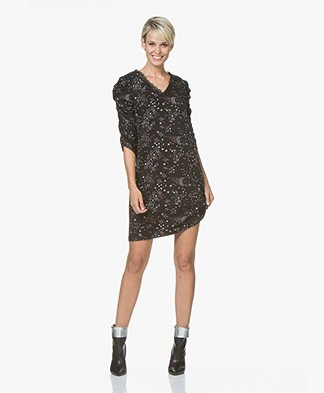 MKT Studio Ria Print Dress - Carbone