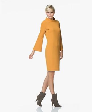 Josephine & Co Ray Flared Sleeve Dress - Golden Yellow