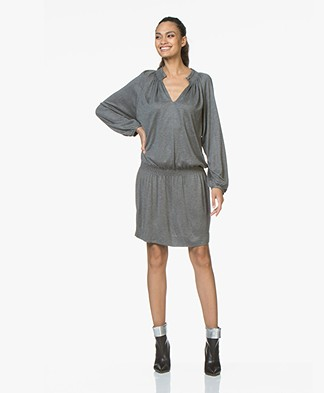 Vanessa Bruno Jovita Jersey Dress - Grey Melange