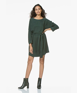 American Vintage Nalastate Lyocell Dress - Green
