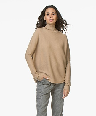 Drykorn Lyza Wool Knitted Pullover - Camel