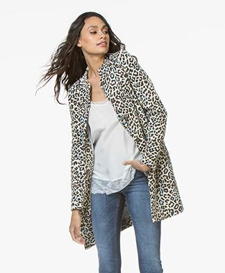 Josephine & Co Jorna Jersey Jacket - Beige/Bruin/Blauw