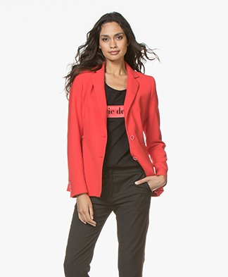 LaSalle Tailored Blazer - Red
