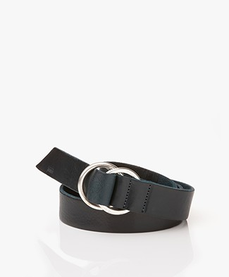 Closed Ring Buckle Belt - Mediterranea