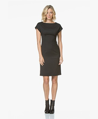 Filippa K Tailored Jurk - Zwart