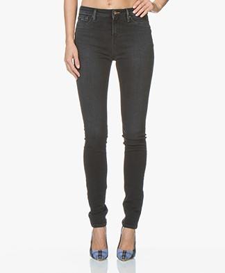 Denham Needle High Skinny Jeans - Black