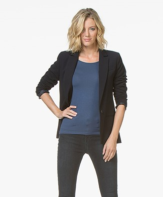 MKT Studio Vama Tailored Blazer - Navy