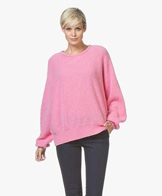 American Vintage Hanapark Alpaca Blend Sweater - Bubblegum
