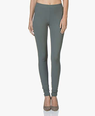 Woman By Earn Whitney Leggings - Grey Green