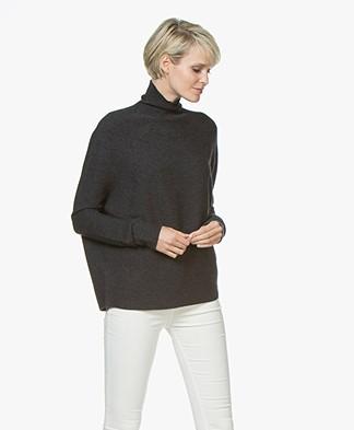 Drykorn Lyza Wool Knitted Pullover - Dark Grey