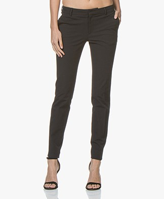 Filippa K Sophia Cotton Stretch Pantalon - Zwart
