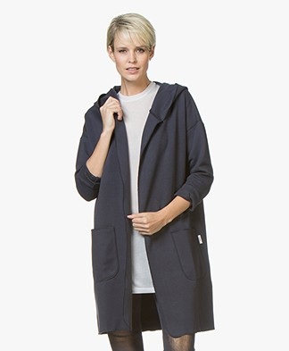 Josephine & Co Jady Cardigan in Cotton Blend - Navy