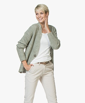 Josephine & Co Jobien Knitted Cardigan - Army
