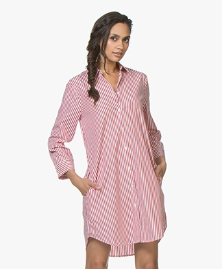491244e012f068 Josephine   Co Joep Striped Shirt Dress - Stripe Red
