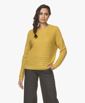 Drykorn Nola Chunky Knit Sweater  - Yellow