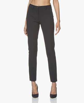 no man's land Classic Tailored Pants - Dark Sapphire