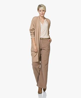Josephine & Co Jooske Merino Blend Open Cardigan - Camel