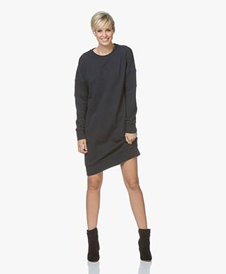 Josephine & Co Jules Embossed Print Sweater Dress - Navy