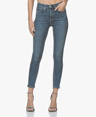 Rag & Bone High Rise Ankle Skinny Jeans - West