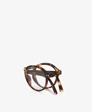 IZIPIZI READING #F Reading Glasses - Brown Tortoise