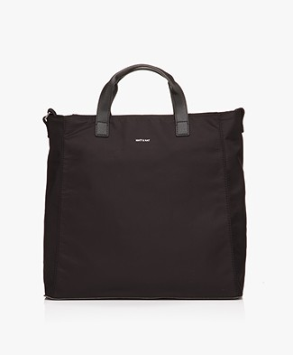 Matt & Nat Faye Large Nylon Tote - Black