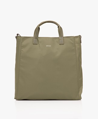 Matt & Nat Faye Large Nylon Tote - Olive
