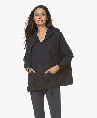 BRAEZ Helarie Oversized Sweater met Applicaties - Navy