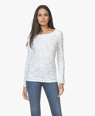 Josephine & Co Jella Ausbrenner Jersey Long Sleeve - White