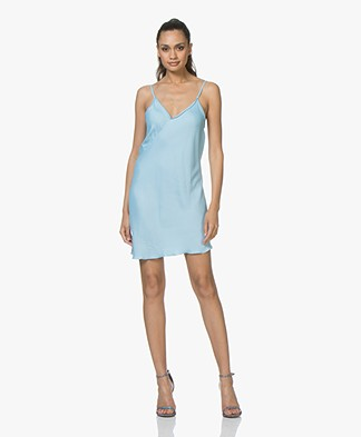 Braez Bree Viscose Asymmetric Dress - Turqouise