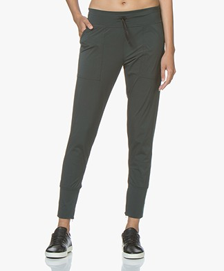 Filippa K Restorative Pants - Emerald
