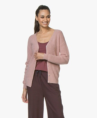 MKT Studio Kosplan V-neck Cardigan - Blush