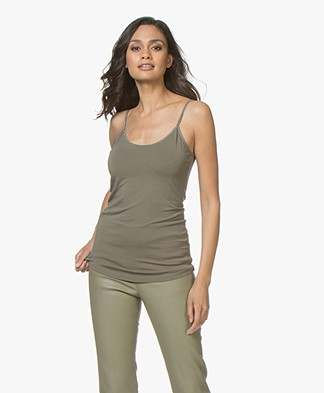 no man's land Viscose Singlet - Light Armour