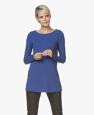 Kyra & Ko Rana Long Jersey Longsleeve T-shirt - Cobalt