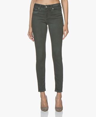 Drykorn Pull Garment Dyed Skinny Jeans - Bottle Green