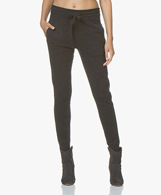 Filippa K Cashmere Trackpants - Antraciet