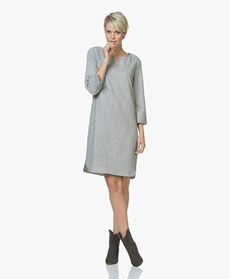 Josephine & Co Jette Wool Blend Dress - Grey