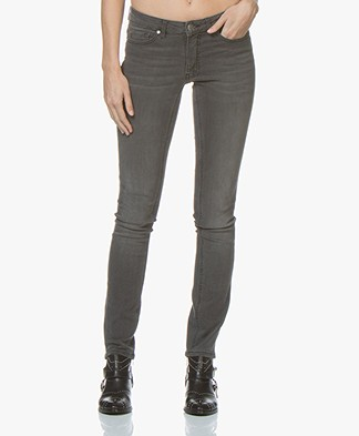 BOSS J20 Mid-rise Super Stretch Skinny Jeans - Medium Grey