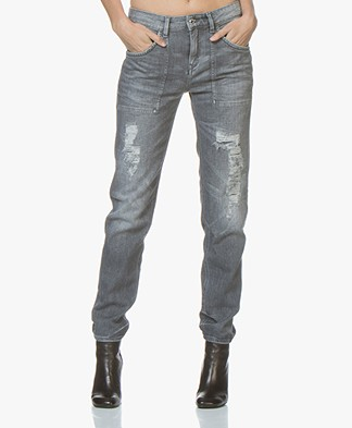 Drykorn Cushy Tapered Jeans - Grijs