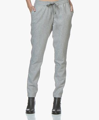 Josephine & Co Jenice Sporty Wool Blend Trousers - Grey
