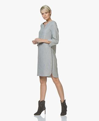 Josephine & Co Jette Wool Blend Dress - Grey