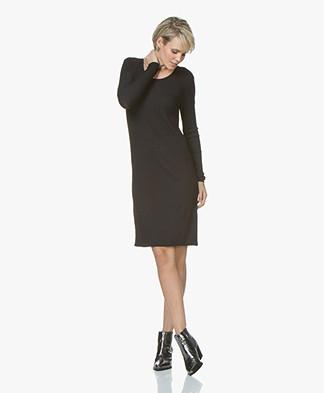 LEÏ 1984 Tamara Rib Jersey Dress - Black