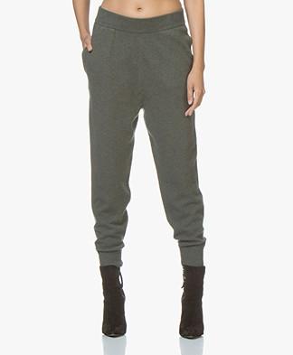 extreme cashmere N°56 Yogi Knitted Pants - Khaki