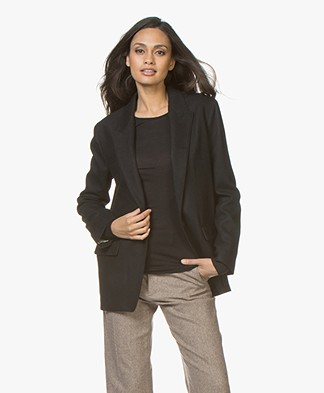 Rag & Bone Monty Wool Blend Blazer - Black