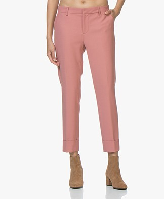 Closed Stewart Wool Blend Pants - Dusty Pink