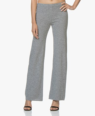 Fine Edge Bell Bottom Pants - Elephant Skin