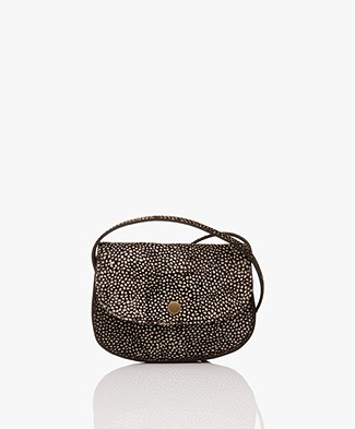 BY-BAR Hair Animal Cross-body Bag - Brown