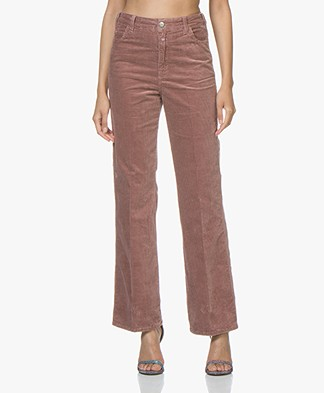 Closed Kathy Coduroy High-Waist Pants - Dusty Pink